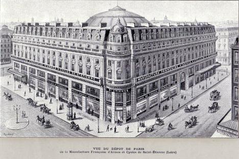 Manufacture Francaise d'Armes et Cycles de St.Etienne.