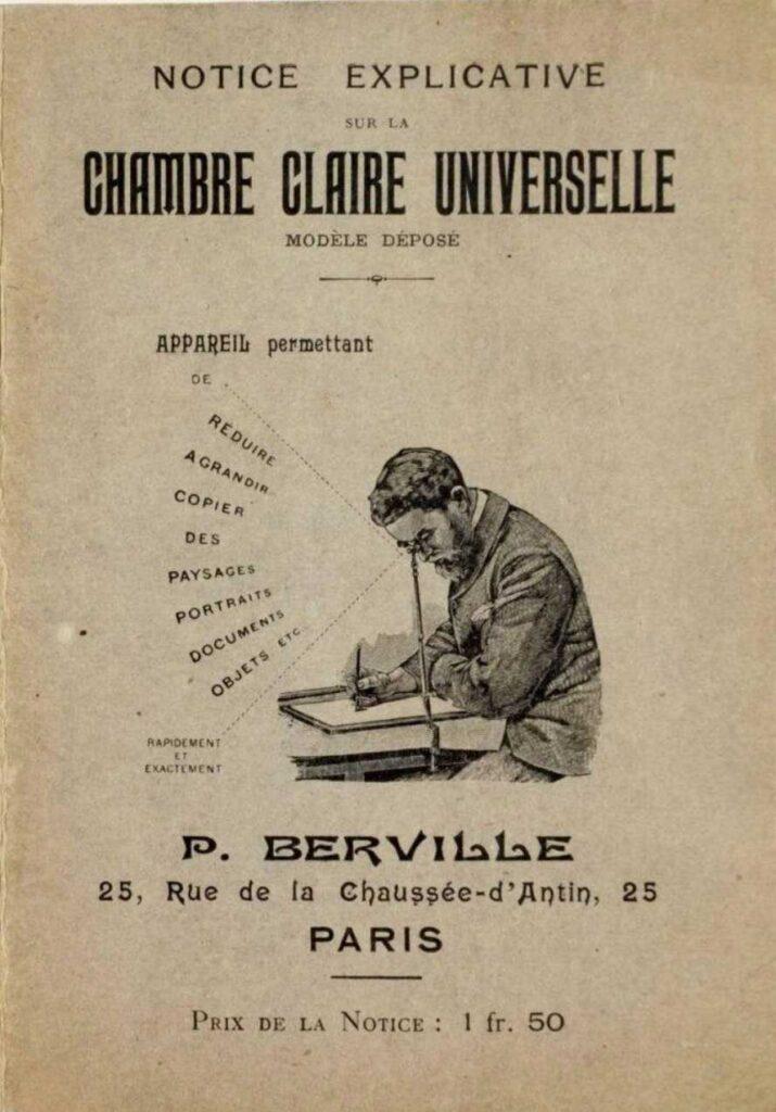 Camera lucida, Chambre Claire Universelle P Berville