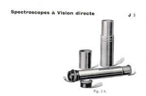 Hilger spectroscope
