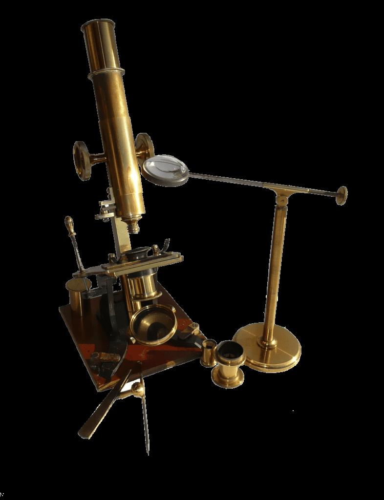 L.P. Casella microscope