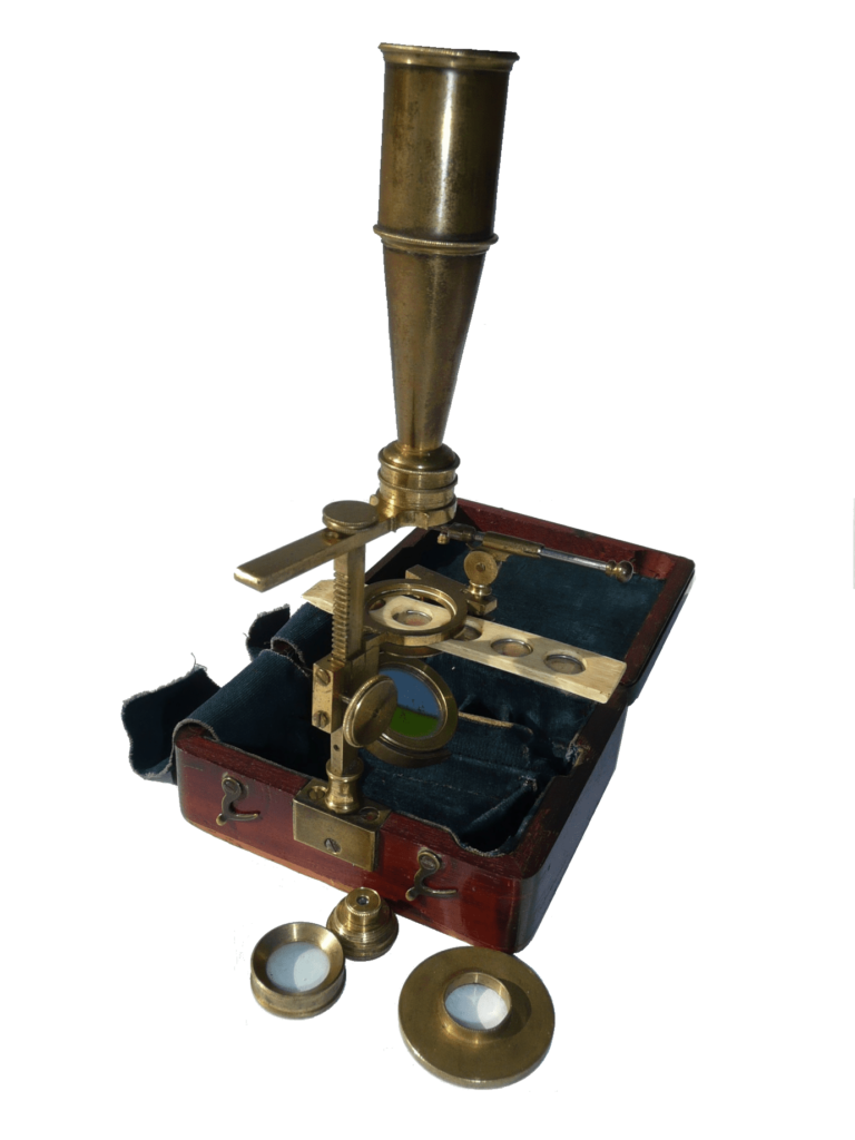 Gould's Improved Pocket Compound Microscope