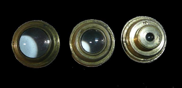 Gould's verbeterde samengestelde zakmicroscoop