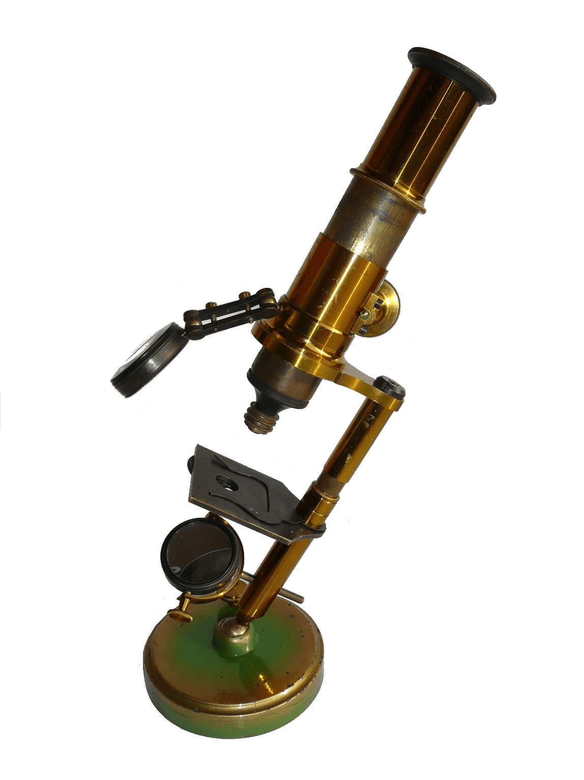 French pillar microscope