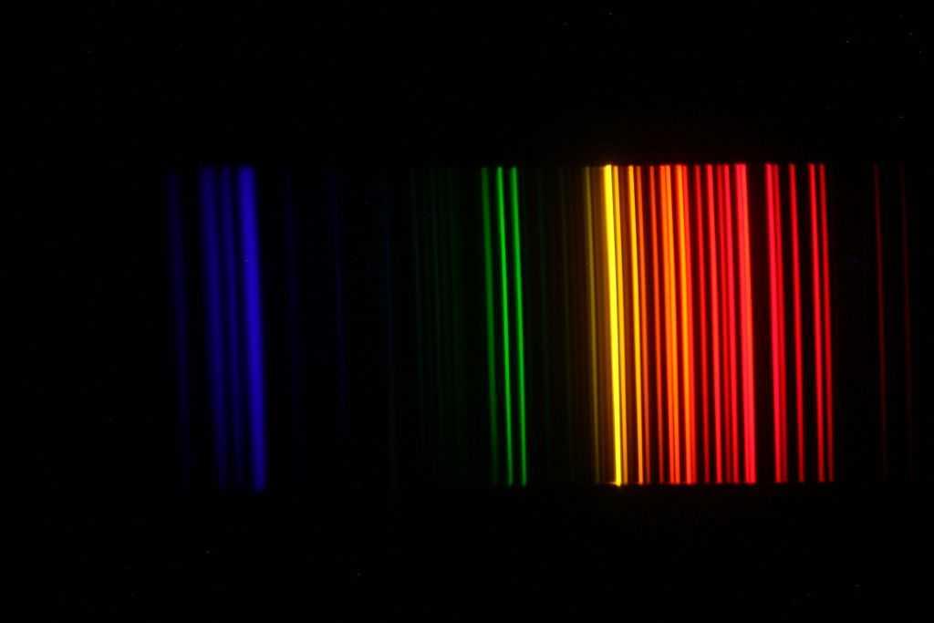 spectrolijnen neon